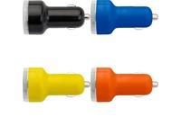 Dubbele USB oplader voor in de auto, 12V