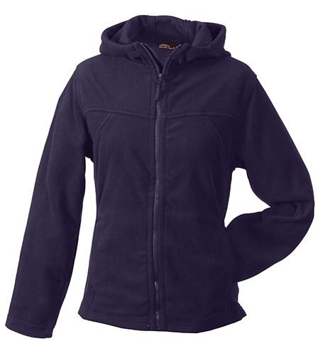 Girly Microfleece Jacket Hooded