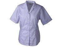 Ladies' Business Blouse Short-Sleeved