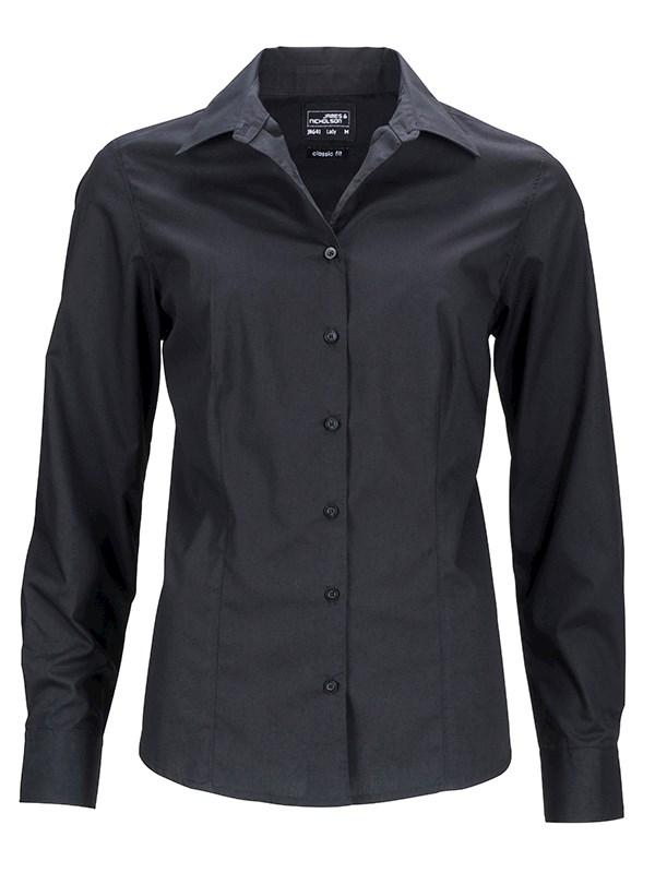 Ladies' Business Shirt Longsleeve
