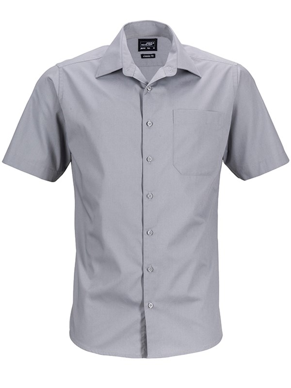 Men's Business Shirt Shortsleeve