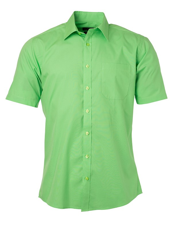 Men's Shirt Shortsleeve Poplin