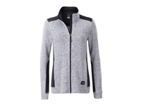 Ladies' Knitted Workwear Fleece Jacket - STRONG -