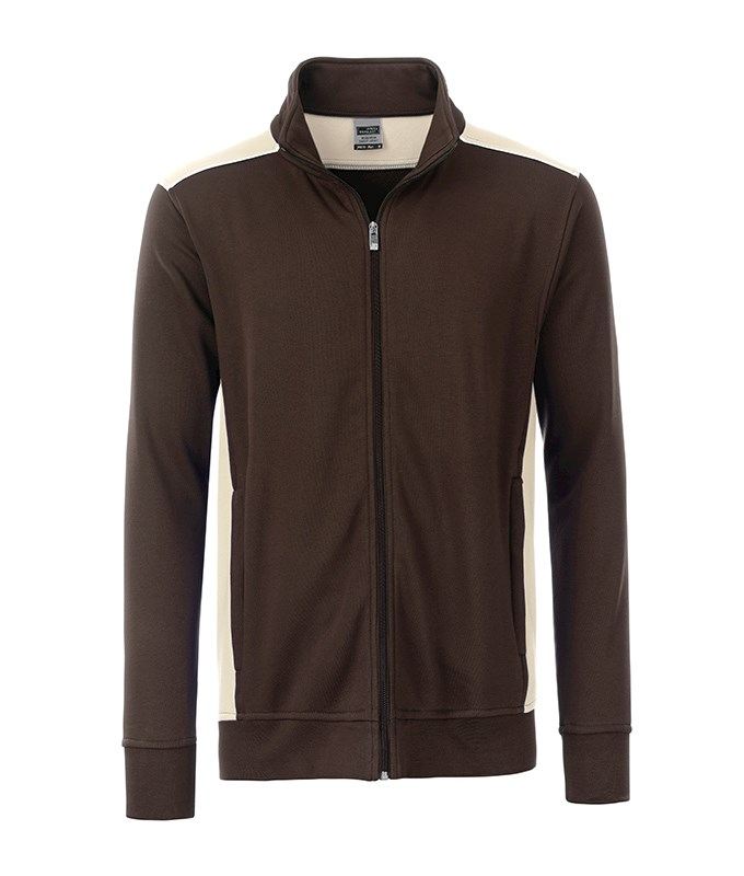 Men's Workwear Sweat Jacket - COLOR -