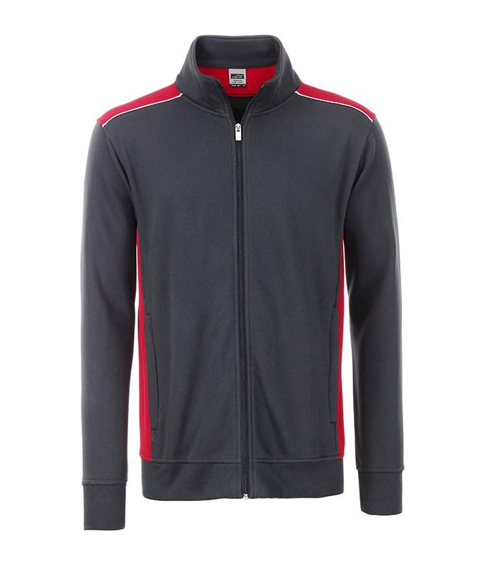 Men's Workwear Sweat Jacket - COLOR -