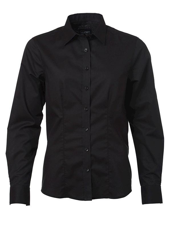Ladies' Shirt Longsleeve Oxford
