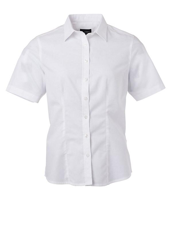 Ladies' Shirt Shortsleeve Oxford
