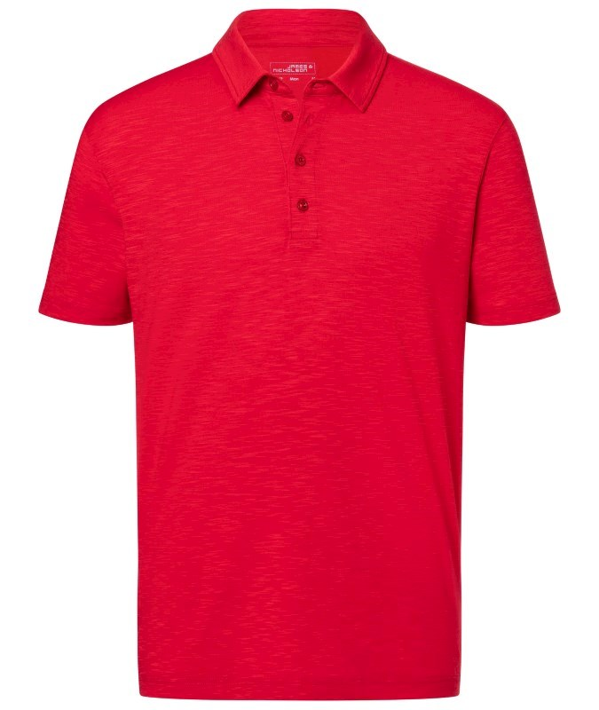 Men's Slub Polo