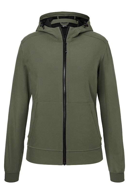 Ladies´ Hooded Softshell Jacket