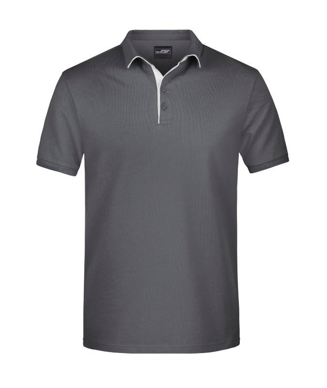 Men's Polo Single Stripe
