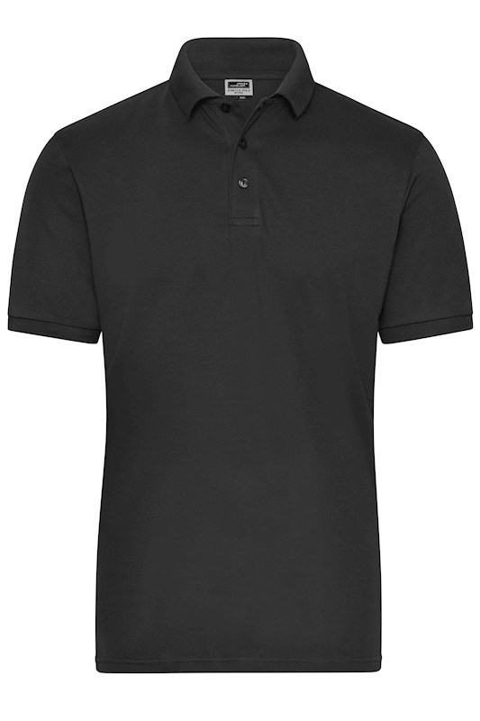 Men's BIO Stretch-Polo Work - SOLID -