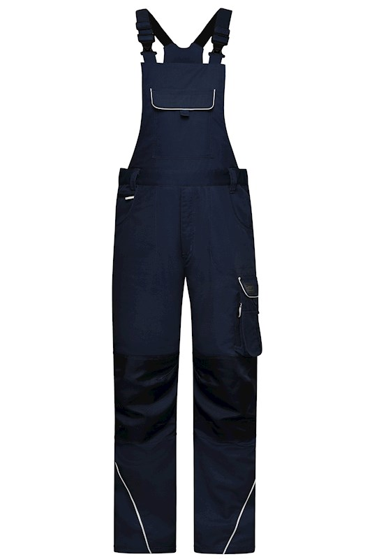 Workwear Pants with Bib - SOLID -