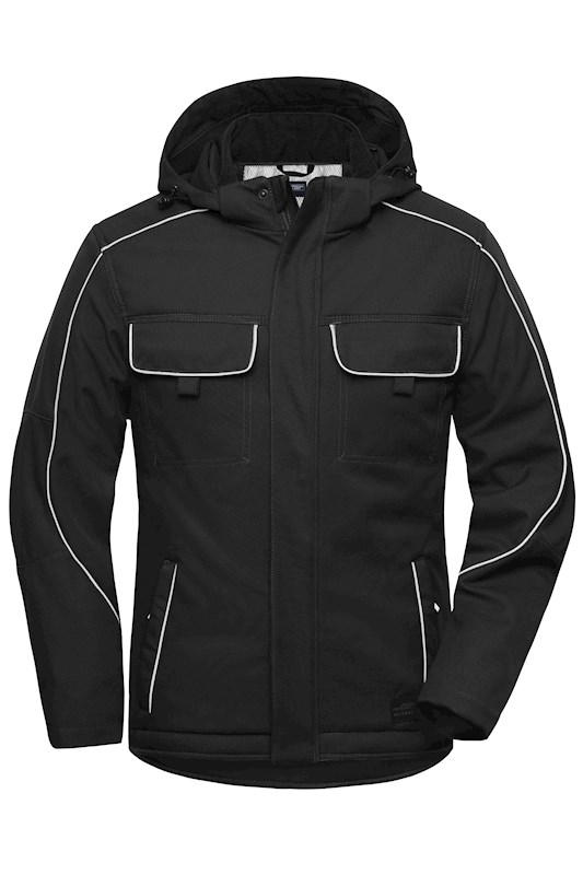 Workwear Softshell Padded Jacket - SOLID -