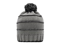 Knitted Winter Beanie with Pompon