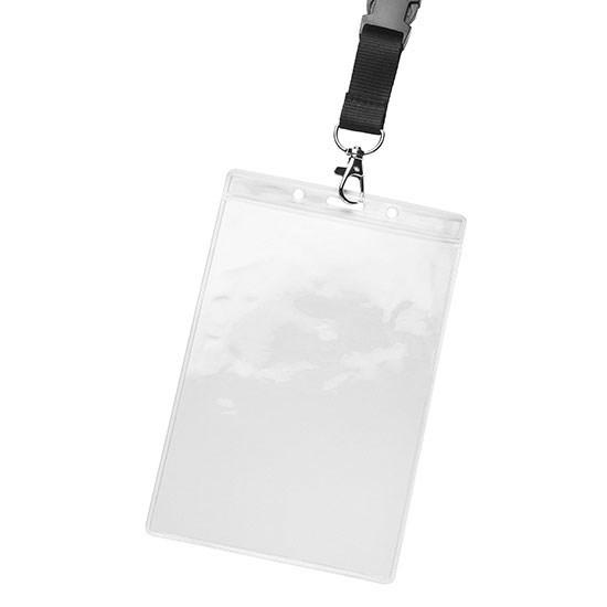 Badgehouder ca. 114 x 176 x 1 mm
