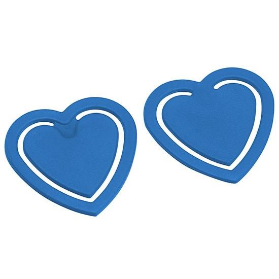 Papierclip in hartvorm
