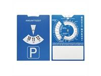 Kartonnen parkeerschijf