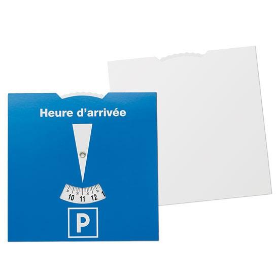 Kartonnen parkeerschijf Frankrijk
