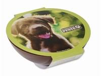 Kom hondensnoepjes bruin