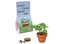 Mini bloempotje met zaden