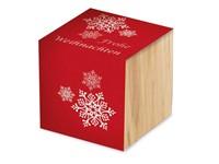 Houten plantenset Kerstmis incl. lasergravure 1 zijde