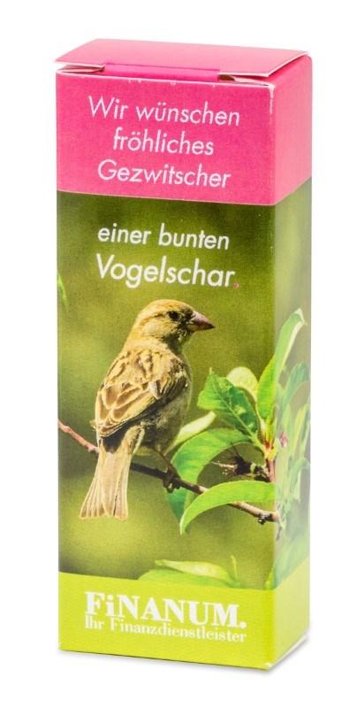 Vogelvoer doosje