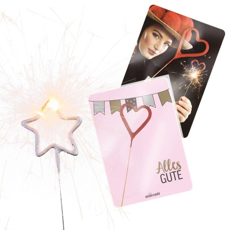 Mini sterretjes met wonderkaart