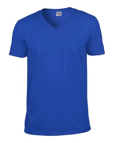 Gildan T-shirt V-Neck SoftStyle SS for him