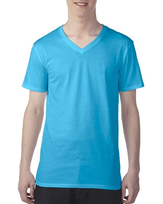 Anvil T-shirt Featherweight V-neck SS for him