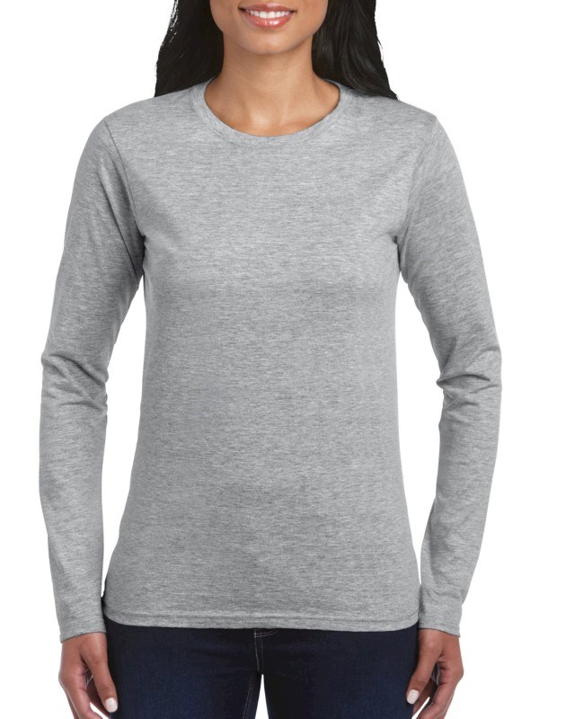 Gildan T-shirt SoftStyle LS for her