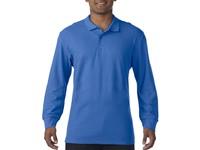 Gildan Polo Premium Cotton Double Pique LS for him
