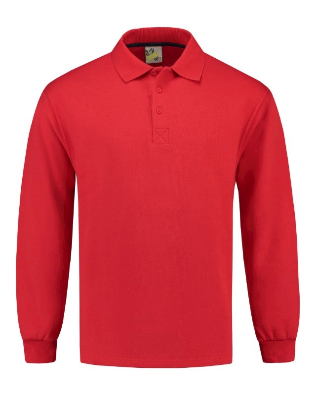 L&S Polosweater Open Hem