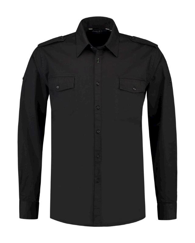 L&S Shirt Twill LS for him