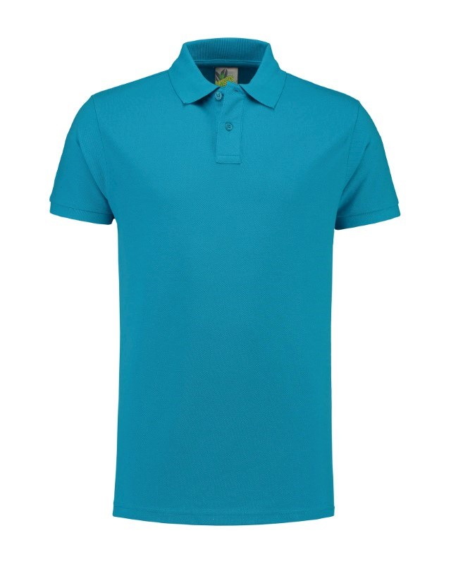 L&S Polo Fit Heavy Mix SS