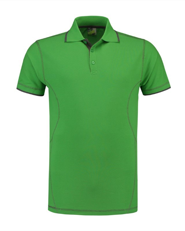 L&S Polo Flatlock SS for him