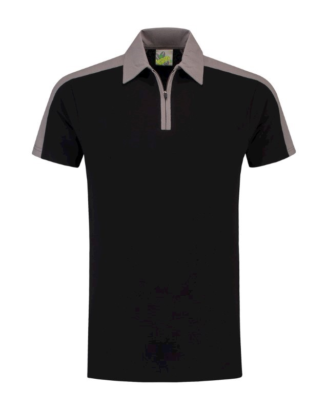 L&S Polo Zip SS for him