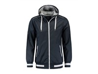 L&S Jacket Hooded Nylon Unisex