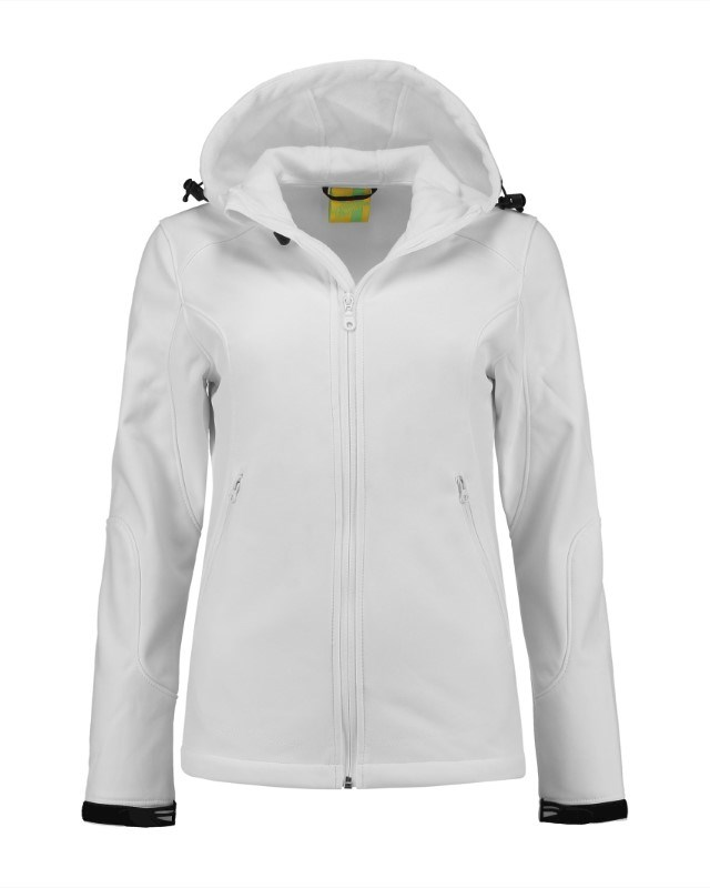 L&S Jacket Hooded Softshell for her