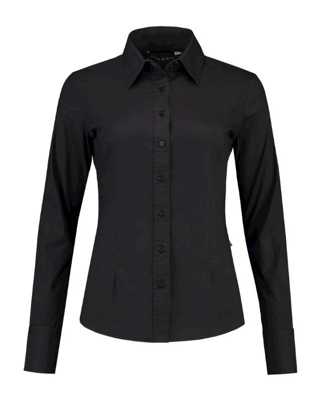 L&S Shirt Poplin LS for her