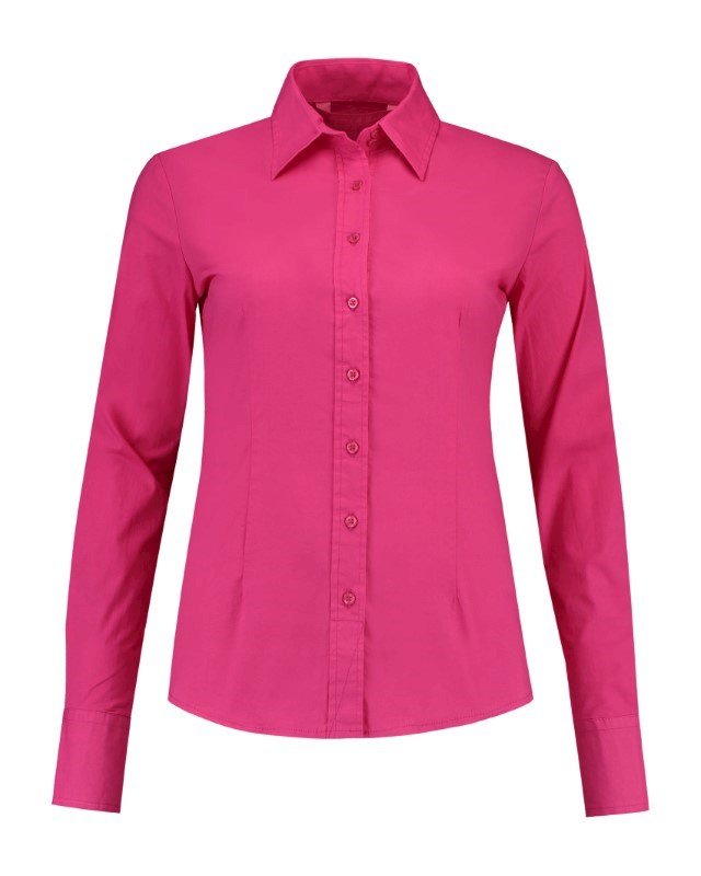 L&S Shirt Poplin LS for her