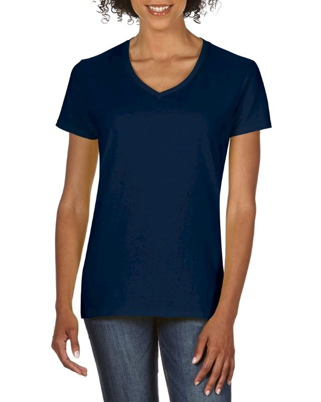 Gildan T-shirt Premium Cotton V-neck SS for her