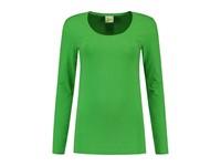 L&S T-shirt Crewneck cot/elast LS for her
