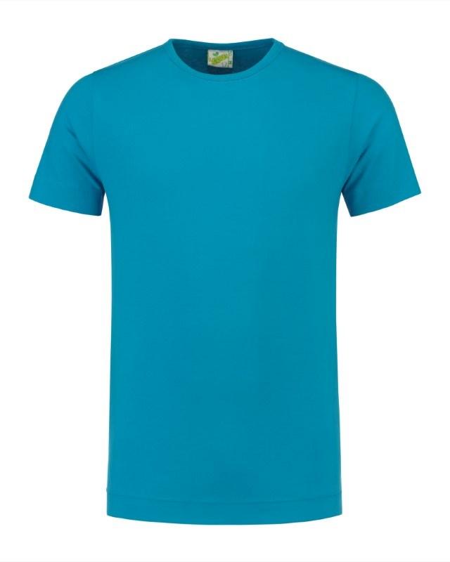 L&S T-shirt Crewneck cot/elast SS for him