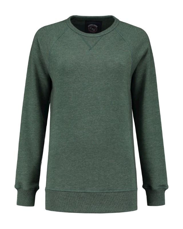 L&S Heavy Sweater Raglan Crewneck for her