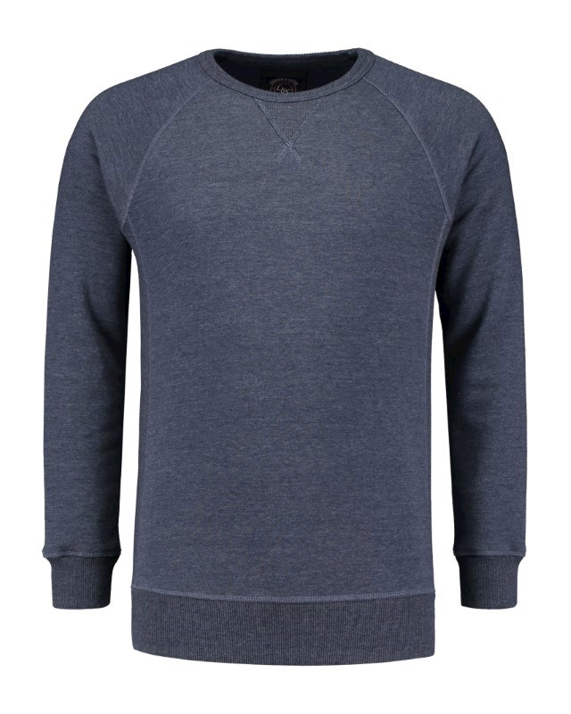 L&S Heavy Sweater Raglan Crewneck for him