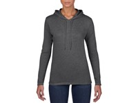Anvil T-shirt Hooded Lightweight LS for her