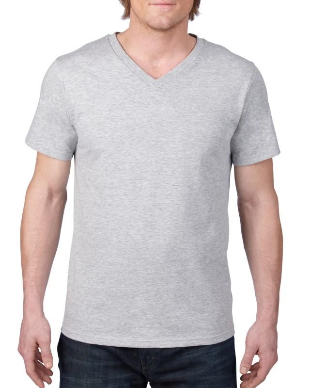 Anvil T-shirt V-neck Lightweight SS for him