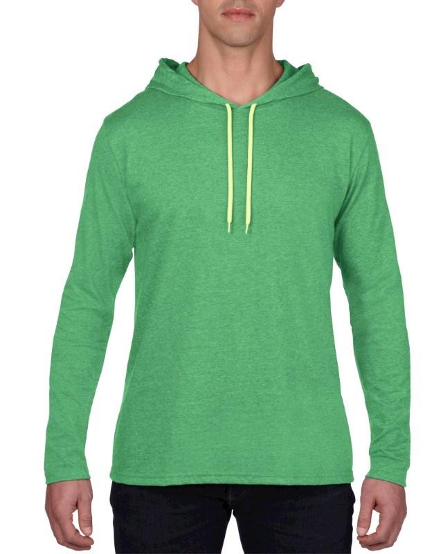 Anvil T-shirt Hooded Lightweight LS for him