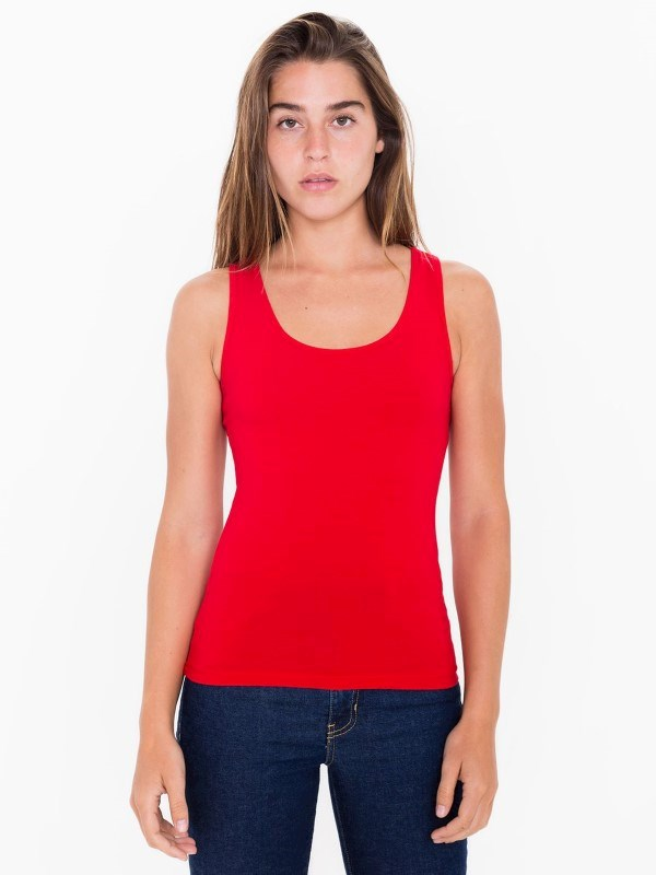 AMA Tanktop Cot/Spandex For Her