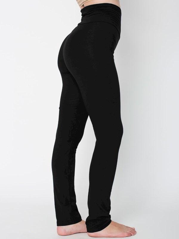 AMA Pants Yoga Cot/Spandex Straight Leg